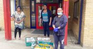7000 food pack delivered by Island Networks Covid-19 support team