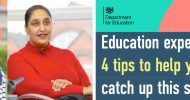 Top tips to help kids catch up this summer in the UK
